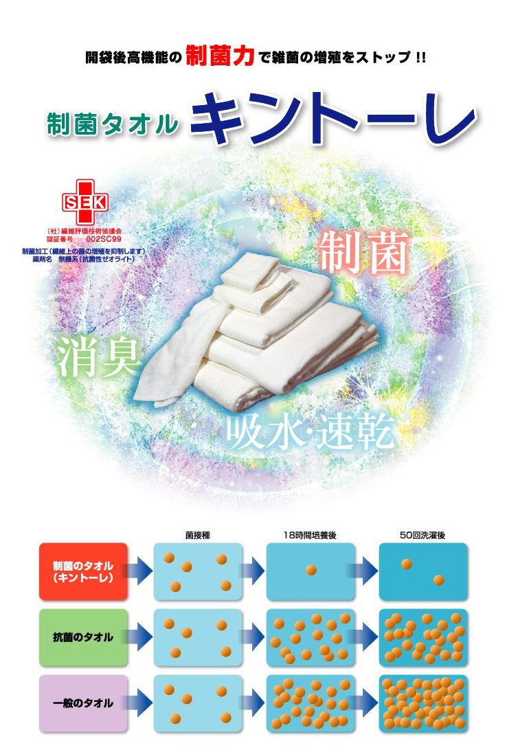 制菌タオルキントーレカタログ1
