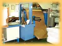 タオル自動梱包機